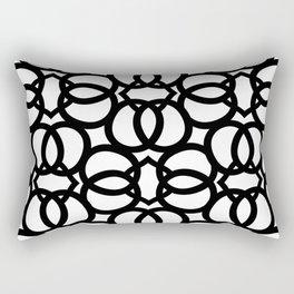 LETTERNS - Q - Arial Rectangular Pillow