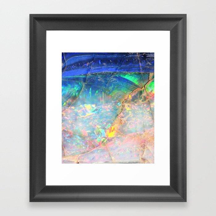 Ocean Opal Gerahmter Kunstdruck