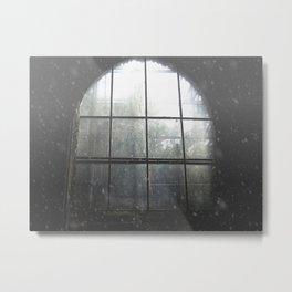 Mellifont Abbey Windows Metal Print