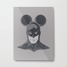BATMOUSE Metal Print