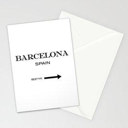 Barcelona - Spain Stationery Cards