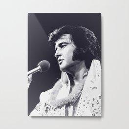 Elvis Presley art print Metal Print