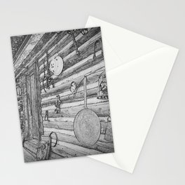 Old Mining Cabin Stationery Cards