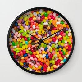 Gourmet Jelly Bean Pattern  Wall Clock