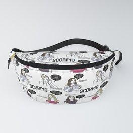 Scorpio- Bravostrology Series Fanny Pack