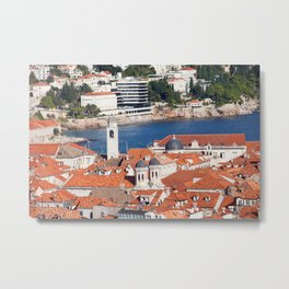 Dubrovnik Cityscape Metal Print
