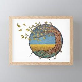 Twisted Tree Framed Mini Art Print