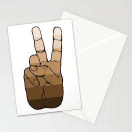 Peace Among People Stationery Cards
