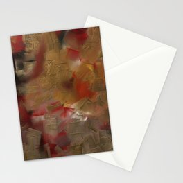Gold and blood Stationery Cards