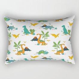 Quirky Dinos Rectangular Pillow