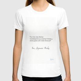 Kobayashi Issa, Japanese Haiku T-shirt