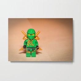 Ninjago Lloyd Metal Print