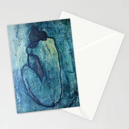 Pablo Picasso's The Blue Nude Stationery Cards