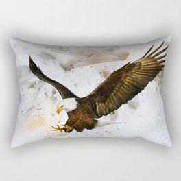 Voice of The Eagle Rectangular Pillow
