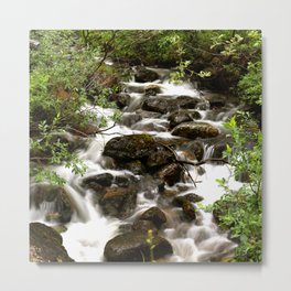 Mountain Creek - Summer Scene #decor #society6 #buyart Metal Print
