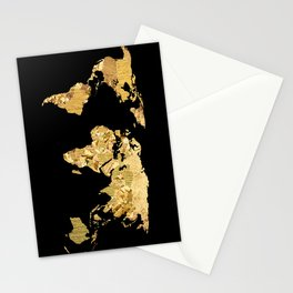 The World is Golden Stationery Cards