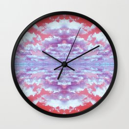 Kaleidoscope Skies Wall Clock