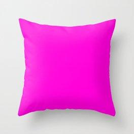 Fluorescent Neon Hot Pink Deko-Kissen