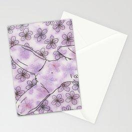 Soft Pastel Floral 2 Stationery Cards