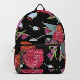 Protea & Eucalyptus Pattern Backpack