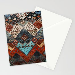 N184 - Boho Heritage Desert Traditional African Moroccan Style Stationery Cards