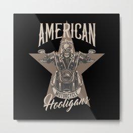 American Motorcycles Metal Print