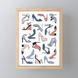 Bold Shoes Framed Mini Art Print