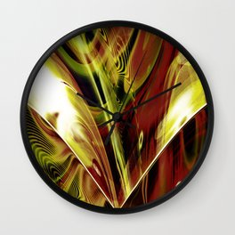 """90 Degrees"" Wall Clock"