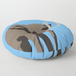 Angry Elephant Floor Pillow