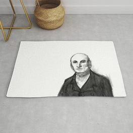John Quincy Adams : Chock Full O' Quincy. Rug