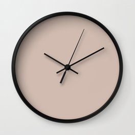 VA Rosy Mauve Pink / Blushing Bride Pink / Cathedral Morning Pink Colors of the year 2019 Wall Clock
