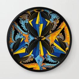 Uncertain Rhythms Wall Clock