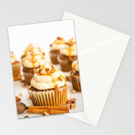 Pumpkin Spice Cupcakes Stationery Cards