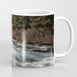 Metolius River near Wizard Falls Coffee Mug