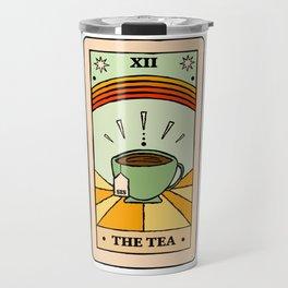 That's the TEA, sis tarot card Travel Mug