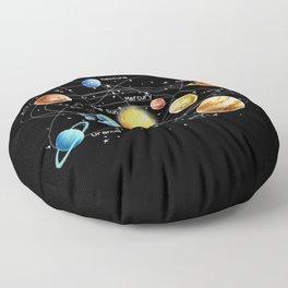 Solar System Floor Pillow