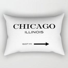 Chicago - Illinois Rectangular Pillow