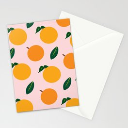 Oranges or Peaches? Stationery Cards