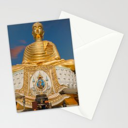 Golden Buddha Tang Sai Temple Thailand Stationery Cards
