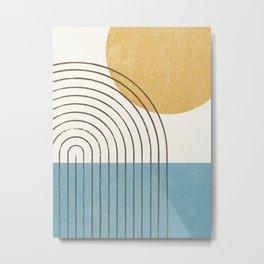Sunny ocean Metal Print