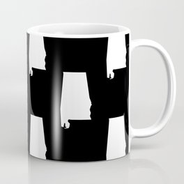 Alabama state silhouette university of alabama crimson tide floral college football gifts Coffee Mug