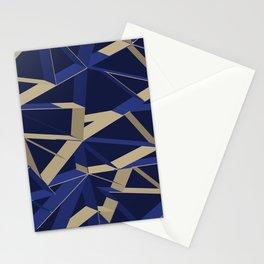 3D Futuristic GEO IX Stationery Cards