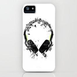 Art Headphones iPhone Case