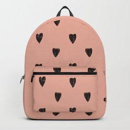 Black hearts Backpack