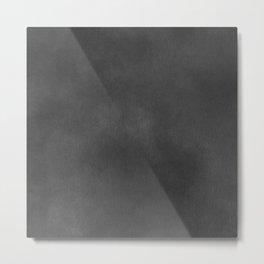 Grey Velvet Metal Print
