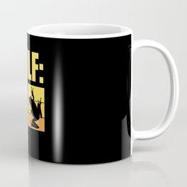 Man I Like Frogs Meme Trending Mens Coffee Mug