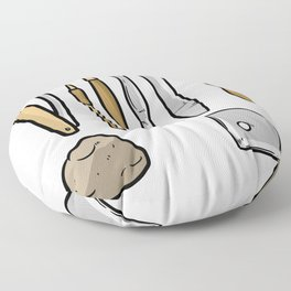 pottery clay gift crafts ceramics potters Floor Pillow