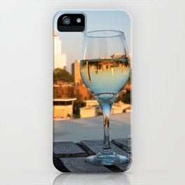 Upside Down World iPhone Case