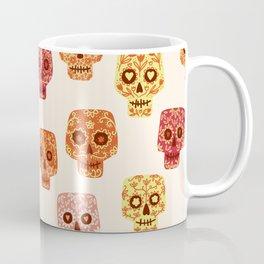 Dia de los Muertos Mexican Decorated Skull Art Coffee Mug