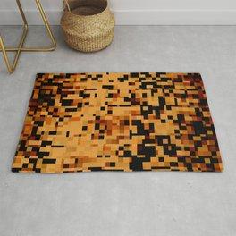 Digital Leopard Camo Pattern Rug